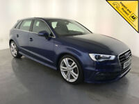 2014 64 AUDI A3 S LINE TDI DIESEL 1 OWNER SERVICE HISTORY FINANCE PX WELCOME