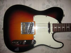 Fender Custom Telecaster, case and GDEC 30 amp
