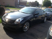 2004 Infiniti G35 Coupe (2 door Low Km Brembo brake,6speed Manua