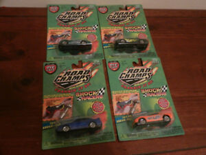 Road Champs 1:64 Diecast Shock Racers Corvette,Viper etc. Lot 8