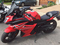 Yamaha FZ6R 2009 en rouge très rare / in red very rare NEGO***