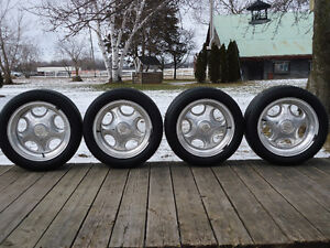 4  AMERICAN RACING  6 BOLT WHEELS