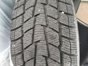 Like New Winter Tires on Rims