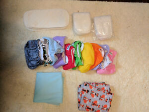 Cloth Diapers, liners, diaper pail liners, never used