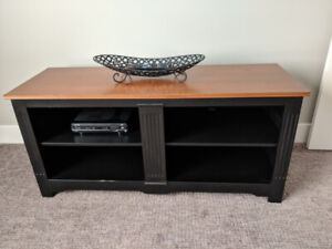 TV console , solid wood