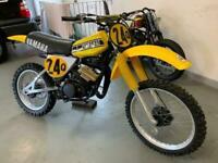 1978 Yamaha YZ125E Air Cooled Monoshock, Twin Shock/Evo class Moto-x Bike