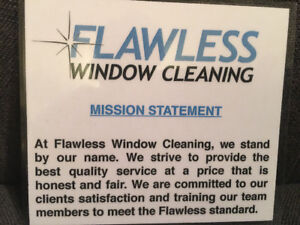 Professional Window Cleaner Wanted
