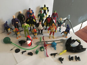 Vintage DC Comics Action Figures