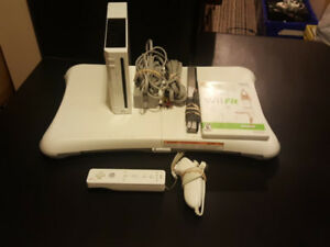 Nintendo Wii With Wii Fit Bundle