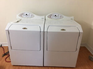 Maytag Neptune high end washer electric dryer washing machines