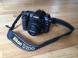 Nikon D200 - DSLR - This is a great deal!!!!