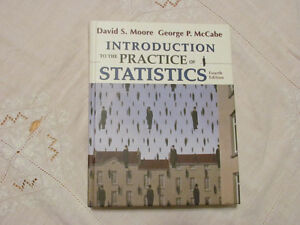 Introduction to the Practice of Statistics, 4th edition