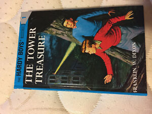 The Tower Treasure hard cover book