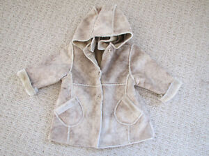 Faux Shearling Coat 18m+ Kitchener / Waterloo Kitchener Area image 1