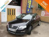 2009 Volkswagen Passat 2.0TDI CR 140 DSG Highline Automatic Saloon in Black