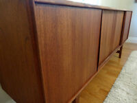 Refinished Teak Mid Century Sideboard - Delivery Available