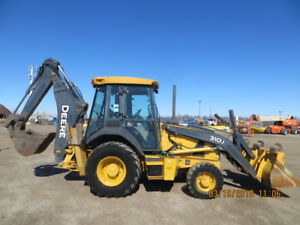 2012 JOHN DEER BACKHOE JUST LIKE BRAND NEW WITH LOW LOW HOURS