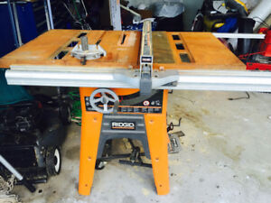 "Rigid 10 "" Shop Table Saw"