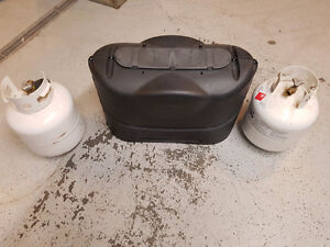 20Lb propane bottles with cover Strathcona County Edmonton Area image 4