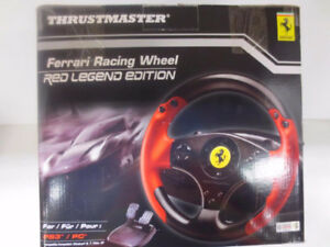 Thrustmaster Ferrari Racing Wheel Red Legend PS3/PC -NEW in box