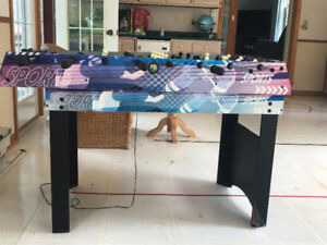 Fuseball/Air hockey table