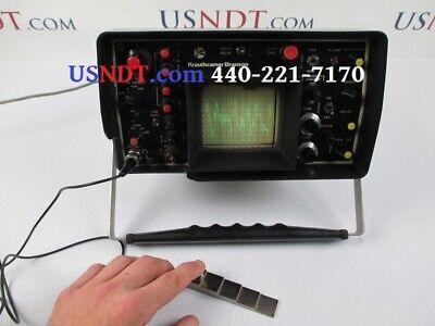Krautkramer Usl-42 Ultrasonic Flaw Detector Ndt Ge Olympus Panametrics