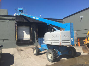 Genie s40 40 foot man lift for rent