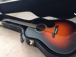 Selling new Alvarez sunburst guitar