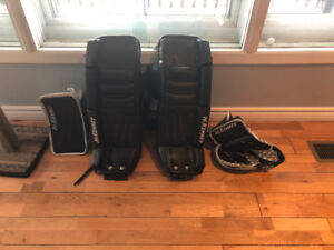 McKenney youth goalie pads