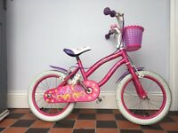 Girls bike excellent condition 16 inch wheels age 4-7