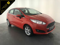 2014 64 FORD FIESTA ZETEC AUTOMATIC 1 OWNER FORD SERVICE HISTORY FINANCE PX
