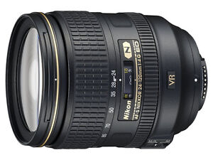 Mint Condition Nikon AF-S Zoom Nikkor 24-120mm f/4G ED VR