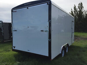 2016 TNT 8.5x16ft Enclosed Trailer w/12'' Extended Height $8999 Edmonton Edmonton Area image 4