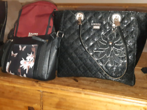 Guess purse and hand bag