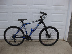 TREK 3700 21 speed front suspension aluminum frame mountain bike