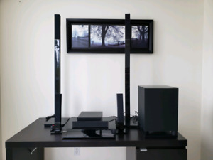 SONY wireless home entertainment speaker 5.1 system