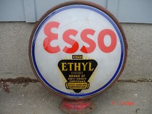 Imperial 3 star, Esso gas pump globes, signs,or Atlas signs
