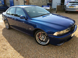 2000 'W' BMW M5. E39 Modern Classic 5.0 V8 Manual. Super Saloon Sport. Px Swap