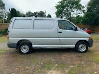 06 TOYOTA HI-ACE 2.5 D-4D SILVER 280 GS ONE OWNER FROM NEW 66K GENUINE PX SWAPS