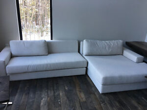 Sectional couch - Italian designer
