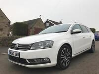 2012 62 VOLKSWAGEN PASSAT 2.0 TDI BlueMOTION TECH SPORT 5DR WHITE