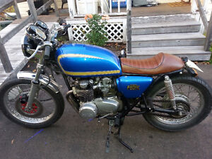 Refurbished 1977 Honda 550K