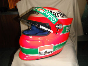 AUTHENTIC EDDIE IRVINE F1 HELMET