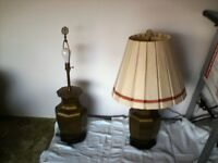 Table Lamps Copper /Brass Base ?????