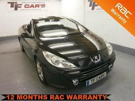 Peugeot 307 CC 1.6 Convertible - FINANCE FROM ONLY £18 PER WEEK!