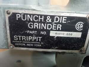 Strippit punch and die grinder Model 85010-000 Kitchener / Waterloo Kitchener Area image 2