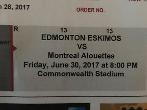 Eskimos vs Alouettes Tickets