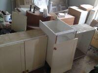 Kitchen units - free!