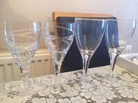 Wine glasses (FREE!)