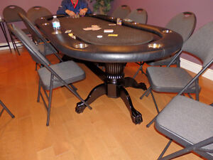 2 Poker Tables for $600.00 each or $1,200.00 for both